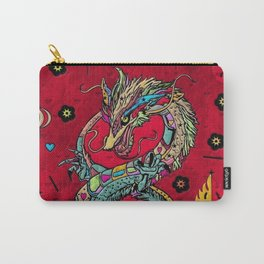 Dragon Popart By Nico Bielow Carry-All Pouch