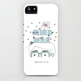 Mind War iPhone Case