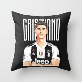 Cris7iano Juve Design Throw Pillow