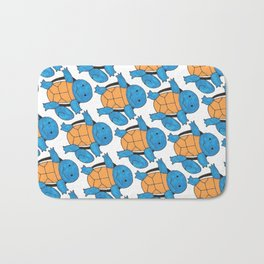 1 Squirtle, 2 Squirtle, 3 Squirtle, 4 Bath Mat