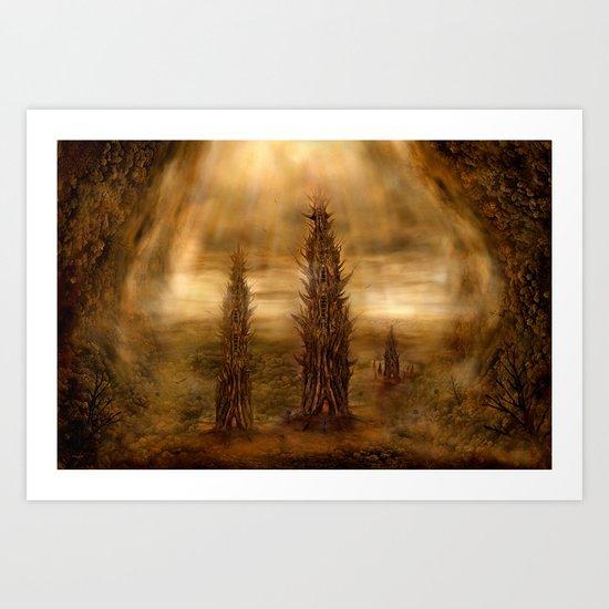 Die Unterwelt Art Print