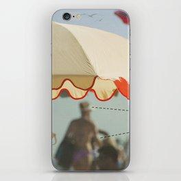 Umbrella~ Beach Series iPhone Skin