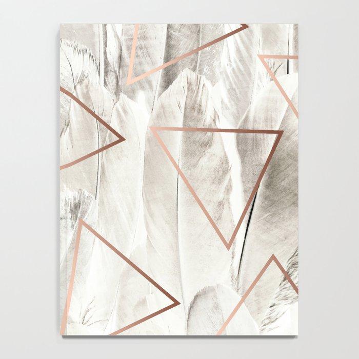 Feathers & Copper #society6 #decor #buyart Notebook