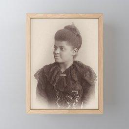 Ida B. Wells, 1893 Framed Mini Art Print