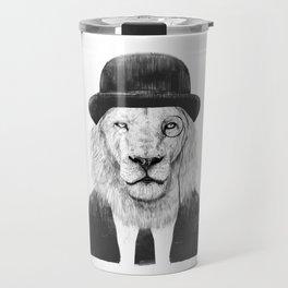 Sir lion Travel Mug