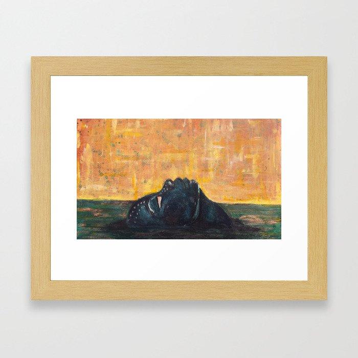 Emerge: Yemoja Framed Art Print