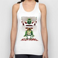 nightmare Tank Tops featuring Nightmare by le.duc