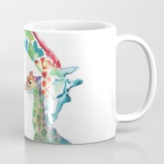 Mummy and Baby Giraffe Mug