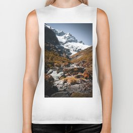 The River (Color) Biker Tank