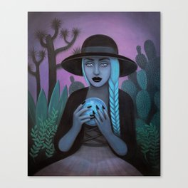 For Crystal Visions Canvas Print