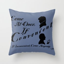 If Convenient Throw Pillow