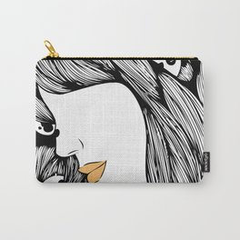 The Panda Lady Carry-All Pouch