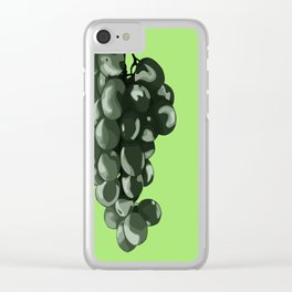 Fruit Part Three: The Grape Clear iPhone Case
