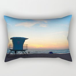 Sunset Over California Rectangular Pillow