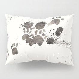 Cat Ran Away With the Ink Pillow Sham