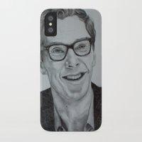 benedict cumberbatch iPhone & iPod Cases featuring Benedict Cumberbatch by Jess5_11