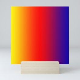 070 Fresh Saturation Gradient Mini Art Print