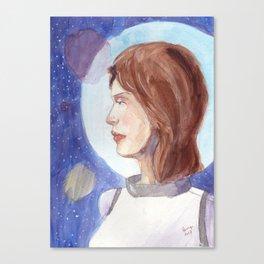 Space veiw Canvas Print
