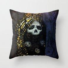 The Virgin Throw Pillow