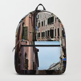 Venice the city of Canals Backpack