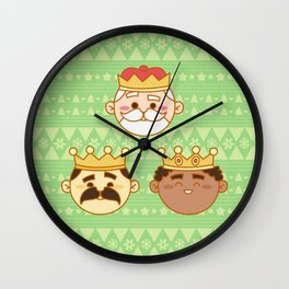 Three Wisemen Wall Clock