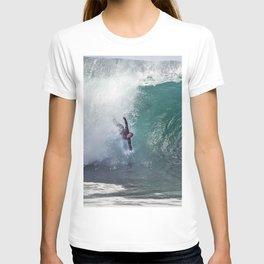 Bodysurfing Newport Wedge  4-30-13 / JT  T-shirt