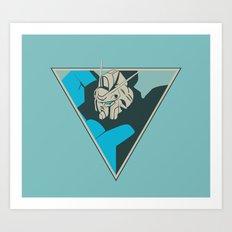 Gundam (by felixx.2 0 1 6) Art Print