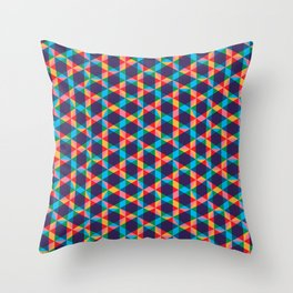 BP 78 Star Hexagon Throw Pillow
