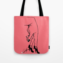 See Yourself Out | Pink Variant Tote Bag