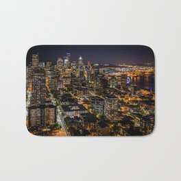Seattle Nights Bath Mat