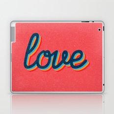 Love - pink version Laptop & iPad Skin