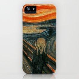 The Scream, Edvard Munch iPhone Case