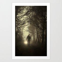 Toward the light Art Print