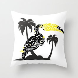 tukan Throw Pillow