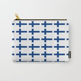 Flag of Finland 3 -finnish, Suomi, Sami,Finn,Helsinki,Tampere Carry-All Pouch