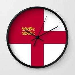 Sark flag emblem Wall Clock