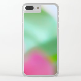 Colors of Spring 2 Nature Abstract Clear iPhone Case