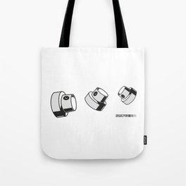 fat caps tumbling style Tote Bag