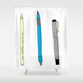 Drawing Tools Shower Curtain