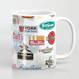 Defunct Restaurants Coffee Mug
