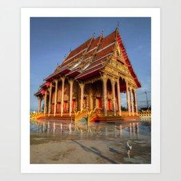 Thailand Temple #8 Art Print