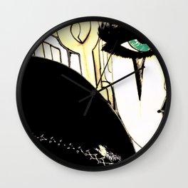 HIPPODROME HARLEQUIN PIERROT Wall Clock