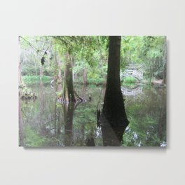 The Painting of Nature Metal Print