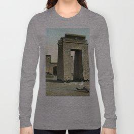 Karnak. Gate and Pylon Long Sleeve T-shirt