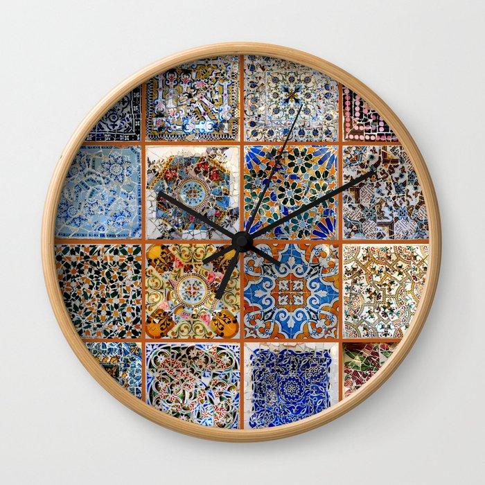 Oh Gaudi! Wall Clock