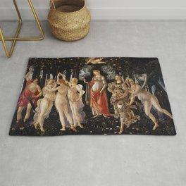 Primavera -Sandro Botticelli Rug