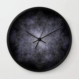polygon mandala 01 // space Wall Clock