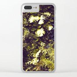 Tropical Tree - Original Clear iPhone Case
