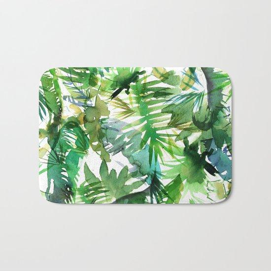 VIBE of the Jungle  {A-green} Bath Mat