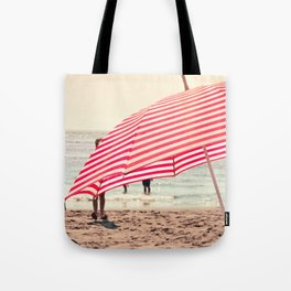 Summer Beach Umbrella Tote Bag